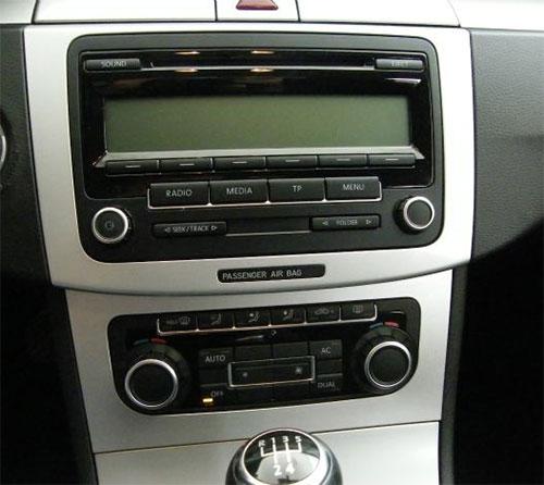 VW Passat B7 Radio 2010