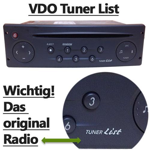 Renault-VDO-Tuner-List