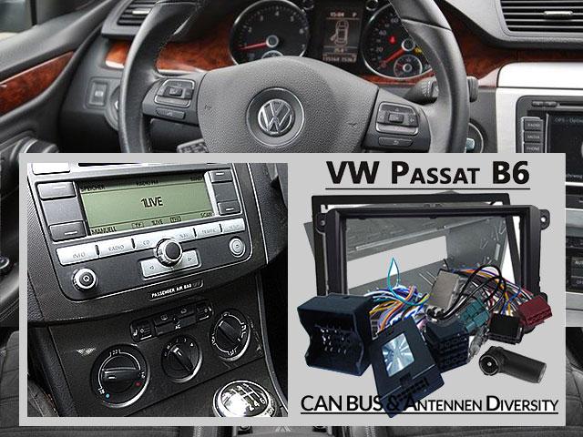 VW Passat B6 Fremdradio was wird benötigt